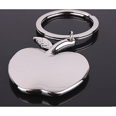 Paslanmaz Çelik Anahtarlık Şekerleri-1 Adet / Set Anahtarlıklar Kişiselleştirilmiş Gümüş