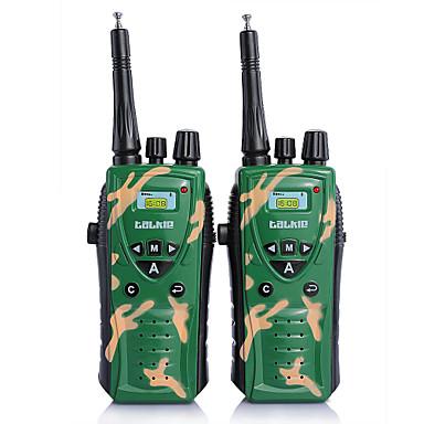 2 φορές παιδιά στρατού πράσινο ραδιόφωνο UHF αμφίδρομη ραδιόφωνο