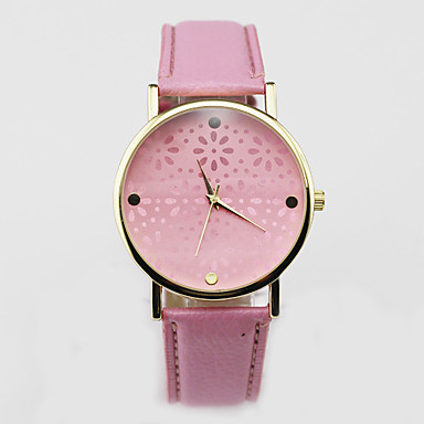 Women's Watch Small Chrysanthemum Hollow Out Wrist Watch Cool Watches Unique Watches