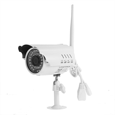 1.0 MP Otthoni with Éjjel-nappaliMozgásérzékelő Vízálló IR-cut Plug and play) IP Camera