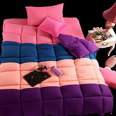 Confortable 1 Couette Fait à la main Imprimé Multicolore