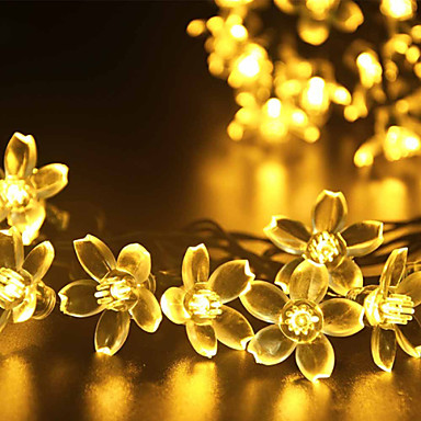 GMY® 1 pc Christmas Light Solar Rechargeable Dimmable