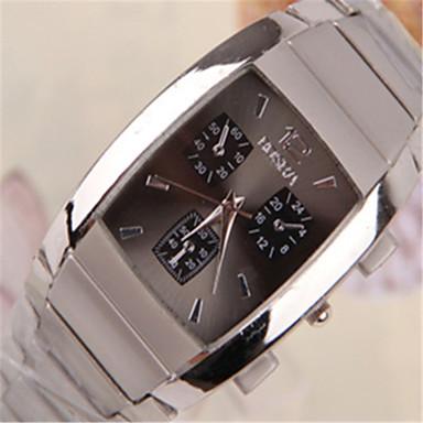 Муж. Наручные часы Кварцевый сплав Группа Серебристый металл