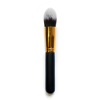 1Pcs High Quality Flame Shape Nylon Powder Brush Cosmetic Beauty Care Makeup for Face