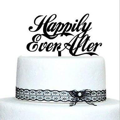 Figurki na tort Motyw Garden Klasyczny styl Akrylowy Ślub Rocznica Przyjęcie przedślubne z 1 OPP