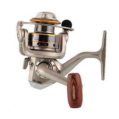 Kołowrotki spinningowe 5.1:1 Przełożenie+6 Łożyska kulkowe wymienny Sea Fishing Wędkarstwo słodkowodne Fishing Lure - FR030