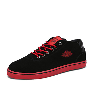 Men's Shoes Office & Career/Athletic/Casual Fashion Sneakers Blue/Green/Red