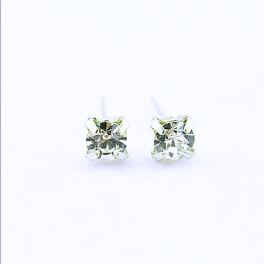 Naušnica Sitne naušnice / Viseće naušnice Jewelry 1set Legura / Kubični Zirconia / Platinum Plated Žene Srebrna