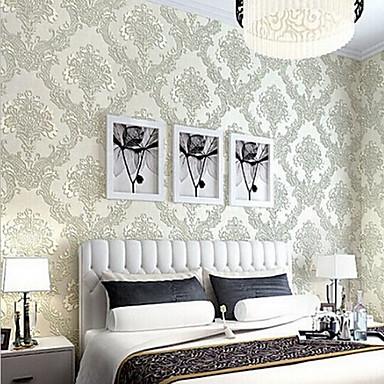 Φλοράλ Αρχική Διακόσμηση Klasika Κάλυψης τοίχων, Μη υφαντό Χαρτί Υλικό κόλλα που απαιτείται ταπετσαρία, δωμάτιο Wallcovering
