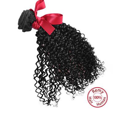 İnsan saç örgüleri İri Dalgalı Peru Saçı Kinky Curly 12 ay 1 Parça saç örgüleri