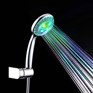 コンテンポラリー ハンドシャワー クロム 特徴 - エコ / LED, シャワーヘッド