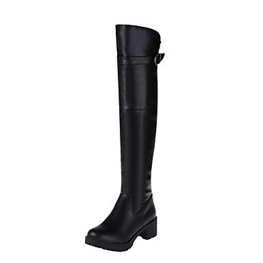 Γυναικεία παπούτσια - Μπότες - Γραφείο & Δουλειά / Φόρεμα / Καθημερινά / Πάρτι & Βραδινή Έξοδος - Χοντρό Τακούνι - Στρογγυλή Μύτη -