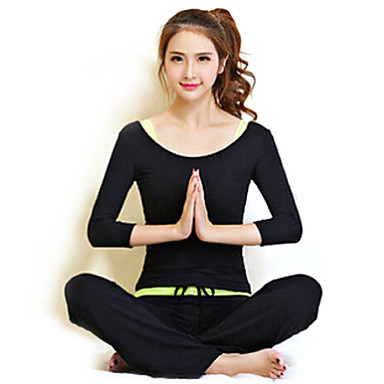 Yoga Clothing Suits Lightweight Materials Stretchy Sports Wear Women's Yoga Pilates Exercise & Fitness Leisure Sports Running