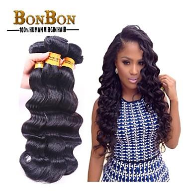 Maláj haj Hullámos haj Emberi haj sző 3 darab 0.285
