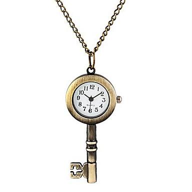 Man And Wwoman Quartz Key Pocket Watch Cool Watch Unique Watch