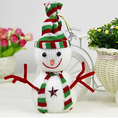 karácsonyfa díszítés hóember medál