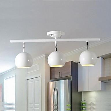 3-Light Вращающаяся лампа Торшер - LED, 110-120Вольт / 220-240Вольт, Холодный белый / Желтый / Белый, Лампочки не включены / 15-20㎡
