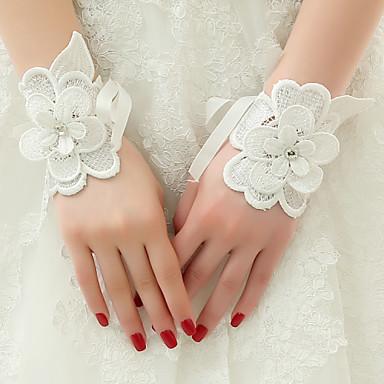 Λουλούδια Γάμου Δεμένο στο χέρι Παιώνιες Κορσάζ Καρπού Γάμος Πάρτι/ Βράδυ Δαντέλα