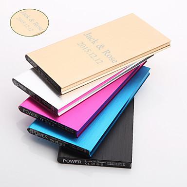 Magnets - Alumiini - Musta / Sininen / Violetti / Kulta / Hopea - Henkilökohtainen lahja -