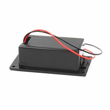 9V-Batterie + t-Schnalle Fall - schwarz