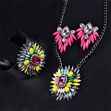 Women Party/Casual Alloy Necklace/Earrings/Bracelet Sets