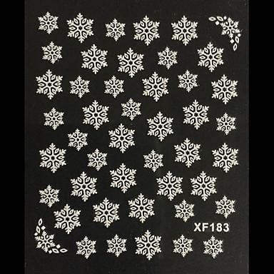 3D Nail Stickers - Muuta - Abstrakti / Lovely - Sormi - 10.5X7X0.1 - 1