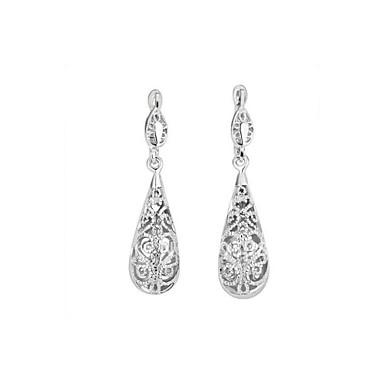 Damen Anderen - Regulär Klassisch Gold Silber Tropfen Ohrringe Für Party