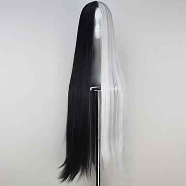 Cosplay Wigs Cosplay Cosplay Black Long Anime Cosplay Wigs 110 CM Heat Resistant Fiber Male / Female