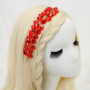 Women's Flower Girl's Rhinestone Alloy Headpiece-Wedding Special Occasion Headbands 1 Piece