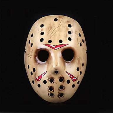 Masque Déguisements Thème Film/TV Fête / Célébration Déguisement d'Halloween Jaune Marron Imprimé Masque Halloween Noël Carnaval Nouvel an