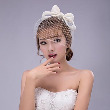 Σιφόν Δαντέλα Γοητευτικά Λουλούδια Καπέλα Βιτρίνα Πτηνών 1 Γάμου Ειδική Περίσταση ΕΞΩΤΕΡΙΚΟΥ ΧΩΡΟΥ Headpiece
