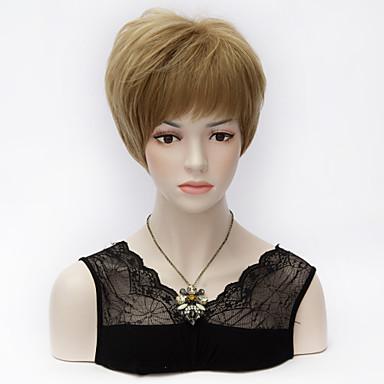 2015 új Harajuku, rövid, egyenes réteg len fénypontja teljes bumm lolita Bobo haj szintetikus party purecas paróka
