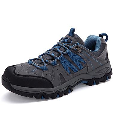 Erkek Ayakkabı Tüylü Bahar Yaz Sonbahar Kış Rahat Yenilikçi Dağ Yürüyüşü Bağcıklı Uyumluluk Gri Haki