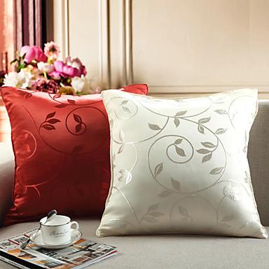 stk Polyester Pute med Innsetthull, Blomstret Fritid Dekorativ Land Tradisjonell Traditionel / Klassisk Moderne / Nutidig