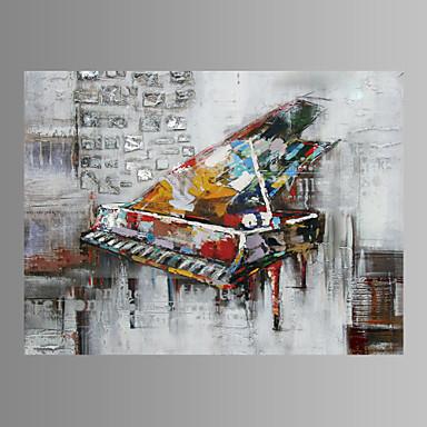 Leinwanddruck Musik Ein Panel Horizontal Wand Dekoration For Haus Dekoration