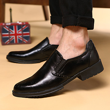 Men's Shoes Office & Career / Party & Evening / Casual Loafers Black / Brown