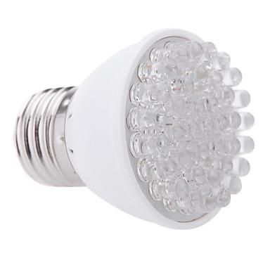 1W E26/E27 LED Grow Lights 38 High Power LED 100-200 lm Red Blue K Decorative AC 220-240 V