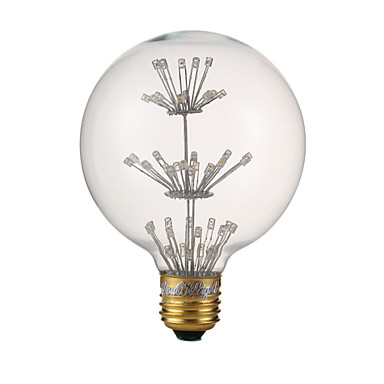 3 W 240 lm Lâmpada Redonda LED G80 47 Contas LED LED Dip Branco Quente 220-240 V / 1 pç
