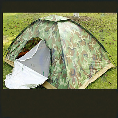 2 persons Tent Double Camping Tent One Room Family Camping Tents Keep Warm Moistureproof/Moisture Permeability Waterproof Ultra Light