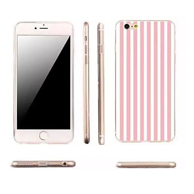 Kompatibilitás iPhone X iPhone 8 iPhone 6 iPhone 6 Plus tokok Ultra-vékeny Minta Hátlap Case Vonalak / hullámok Puha Hőre lágyuló