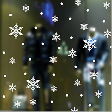 pencere etiket klasik kar, art deco 10cm * 10cm (0ne parçası)