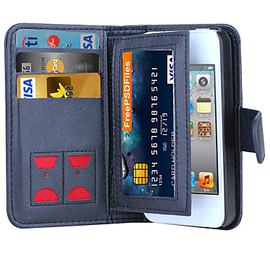 DE JI Magnetic 2 in 1 Luxury Leather Wallet Case Flip Cover+Cash Slot+Photo Frame Phone Case for iPhone 4/4S