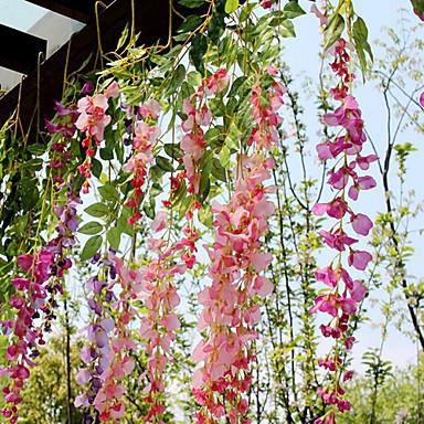 Seda pl stico rat n plantas flores artificiales for Plantas ornamentales artificiales