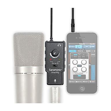 smartrig mikrofon amplifikatör / koymak elma iphone ipad android telefon k şarkı o profesyonel mikrofon
