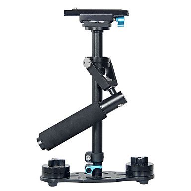 YELANGU® Handheld Aluminum Alloy 40cm DSLR Stabilizer For Camera and Video Camcorders