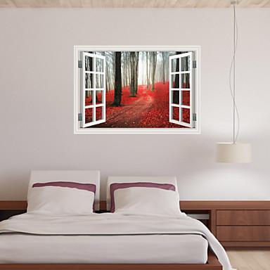 Kasvitieteellinen / Asetelma / Maisema / 3D Wall Tarrat 3D-seinätarrat,pvc 60*90cm