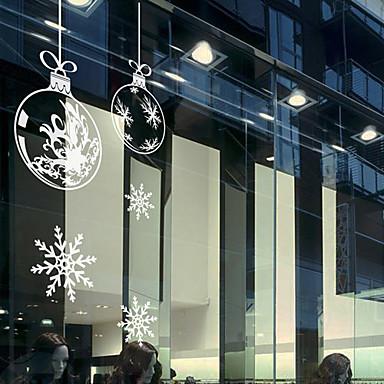 Art Deco Moderna Adesivo de Janela, PVC/Vinil Material Decoração de janela Sala de Jantar Quarto Escritório Quarto das Crianças Sala de
