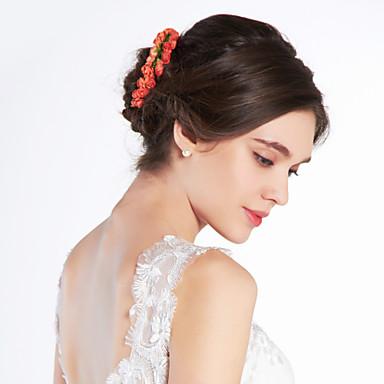 2019 Nuovo Stile Donne Bambina Carta Copricapo-matrimonio Occasioni Speciali Fasce Fiori #00259329 Prezzo Di Vendita Diretto In Fabbrica