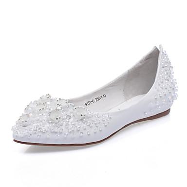 c67b70bf50 Calçados Femininos - Sapatilhas - Conforto   Bico Fino - Rasteiro - Azul    Branco -