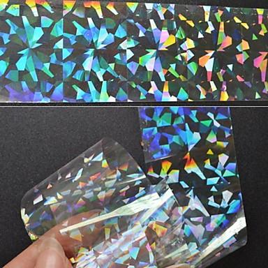 4 pcs Abstrakt / Mode Foliebandspapp Dagligen